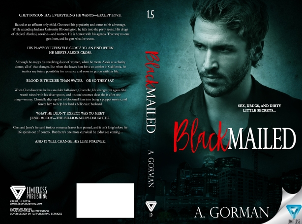 BLACKMAILED - A. GORMAN - LIMITLESS PUBLISHING